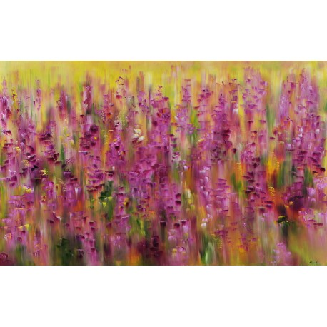 The Iris flower bed