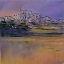 Les Baux de Provence, fin de journée